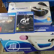 Brand New Ps4 VR Complete Set With The Move Stick And Camera + Two Game | Video Game Consoles for sale in Lagos State, Ikeja