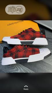 Dior Red Checkered Sneakers | Shoes for sale in Lagos State, Lagos Island