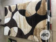 Brown and Gold Fluffy Center Rugs 4/6   Home Accessories for sale in Lagos State, Gbagada