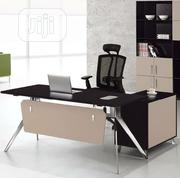 New Model Executive Office Table With Extension And Mobile Drawer | Furniture for sale in Lagos State, Ojo