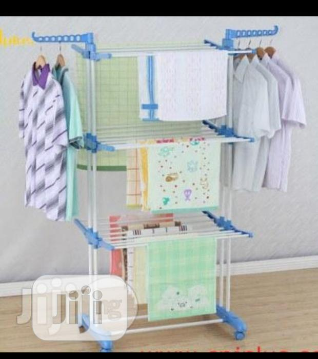 3 Layer Double Pole Clothes Dryer