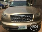 Infiniti FX35 2004 Base 4x4 (3.5L 6cyl 5A) Gold | Cars for sale in Lagos State, Ikeja
