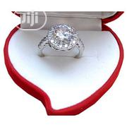Silver Engagement Ring Round Latched | Jewelry for sale in Lagos State, Surulere