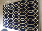 Navy Blue With Gold Design Turkey Made Rugs | Home Accessories for sale in Lagos State, Isolo