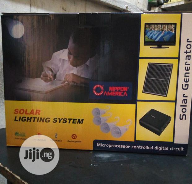 Unique Solar Lighting System