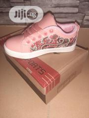 Ereclothing Kids Peach And Sliver Canvas Size 32 And 33   Shoes for sale in Lagos State, Lagos Mainland