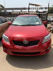 Toyota Corolla 2009 1.8 Exclusive Automatic Red | Cars for sale in Lagos State, Amuwo-Odofin