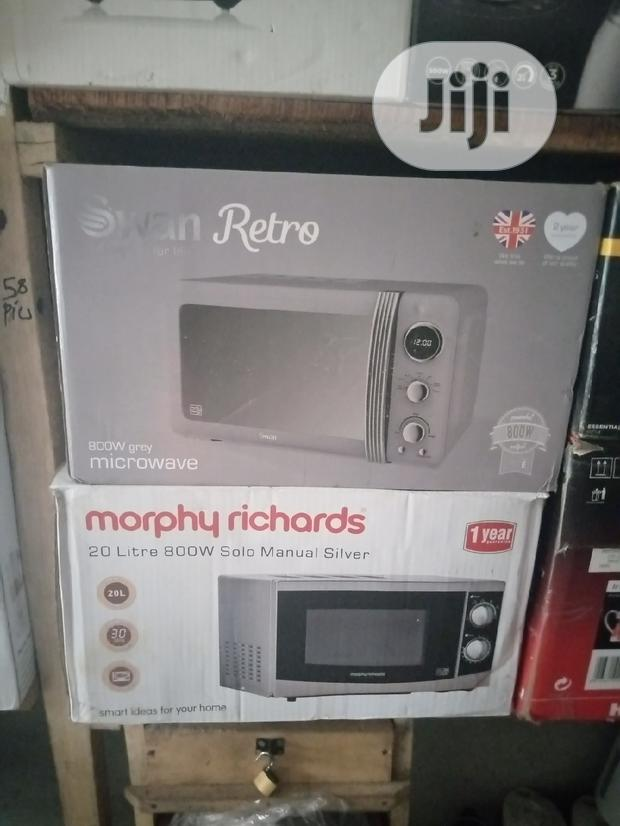 Swan Retro and Mtorphy Richards Microwaves
