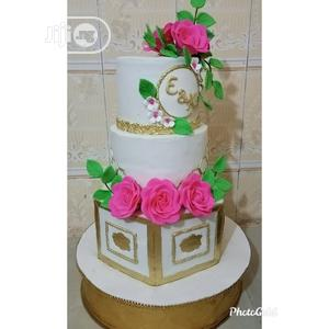3 Tiers Rich Fruit Wedding Cake.