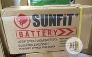 High Capacity Sunfit Solar Battery 200ah | Solar Energy for sale in Lagos State, Ojo