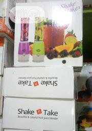 Shake N Take Smoothie Blender With 2 Bottle | Kitchen Appliances for sale in Lagos State, Lagos Island