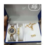 Sliver Fashion Wrist Watch and Bracelet | Jewelry for sale in Lagos State, Surulere
