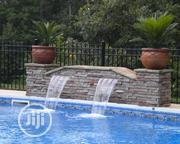 Swimming Pool With Water Fall | Landscaping & Gardening Services for sale in Lagos State, Magodo
