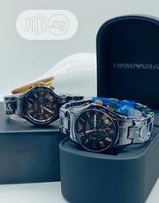 N25,000 Each Emporio Armani Wristwatch With Chronograph Working | Watches for sale in Lagos State, Lagos Island