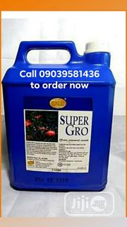 Super Gro Organic Liquid Fertilizer For Crops And Livestocks | Feeds, Supplements & Seeds for sale in Lagos State, Agege