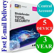 Bitdefender Total Security 2020 - 5 Devices - 3 Yrs Account Sub | Software for sale in Lagos State, Ikeja