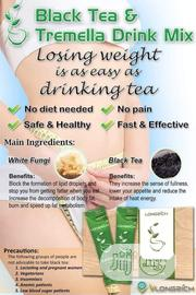 Longrich Black Tea And Tremela Mix Tea | Vitamins & Supplements for sale in Rivers State, Port-Harcourt