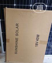 Original Solar Panel Poly 40watts   Solar Energy for sale in Lagos State, Ojo
