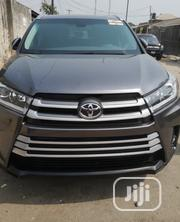 Toyota Highlander 2017 XLE 4x2 V6 (3.5L 6cyl 8A) Gray | Cars for sale in Lagos State, Surulere