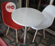 New Model Restaurant/Bar White Table With 2 Fibre Plastic Chairs.   Furniture for sale in Lagos State, Ojo