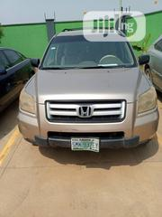 Honda Pilot 2007 LX 4x4 (3.5L 6cyl 5A) Gold | Cars for sale in Lagos State, Badagry