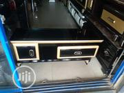 Tv Stand Gold And Black | Furniture for sale in Lagos State, Ojo