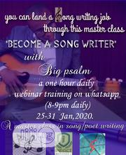 A 7days Masterclass In Song Writting | Classes & Courses for sale in Ogun State, Ijebu Ode