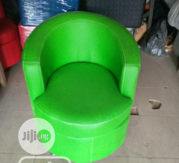 Brand New Quality Leather Single Sofa Chair.