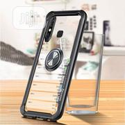 Infinix Hot 8 Transparent Magnetic Ring Case Airbag Full Protection | Accessories for Mobile Phones & Tablets for sale in Lagos State, Ikeja