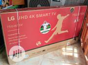 """New LG 75""""Inches HD 4K Smart TV 75uj675v Wi-fi Connect 2 Years 