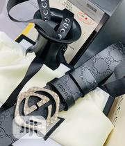 Gucci Belt Black | Clothing Accessories for sale in Lagos State, Surulere