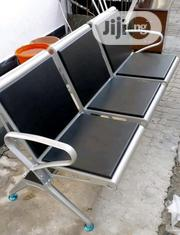 Quality Heavy Pan Iron 3 Seaters Chair With Fibre Pad on It | Furniture for sale in Rivers State, Port-Harcourt
