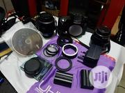 2 Lens With Samugu Profetonal Camera Wit 2batteriies And Ajustable | Accessories & Supplies for Electronics for sale in Lagos State, Lagos Mainland