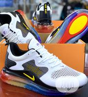 Nike Airmax 720 White and Rainbow Sole | Shoes for sale in Lagos State, Surulere