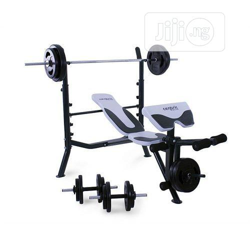 Archive: Commercial Weight Bench With Chest Push Exerciser