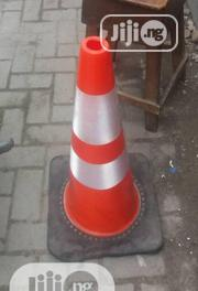 75cm Reflective Cone Black Base | Safety Equipment for sale in Lagos State, Lagos Island