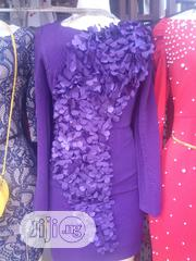 Purple Designed Gown | Clothing for sale in Lagos State, Ikeja