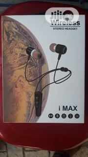 I Max Wireless Stereo Headset. | Accessories for Mobile Phones & Tablets for sale in Lagos State, Ikeja