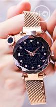 Shaarms Starry Sky Magnetic And Waterproof Female Watch | Watches for sale in Ikeja, Lagos State, Nigeria
