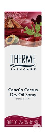 Therme Cancun Cactus Dry Oil Spray 125ml | Skin Care for sale in Lagos State, Surulere