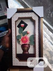 Wall Gold Pink Flowering Frame | Home Accessories for sale in Lagos State, Surulere