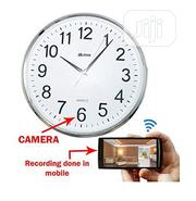 Multi-functional Wifi Clock With Hidden Surveillance Camera | Security & Surveillance for sale in Lagos State, Ikeja