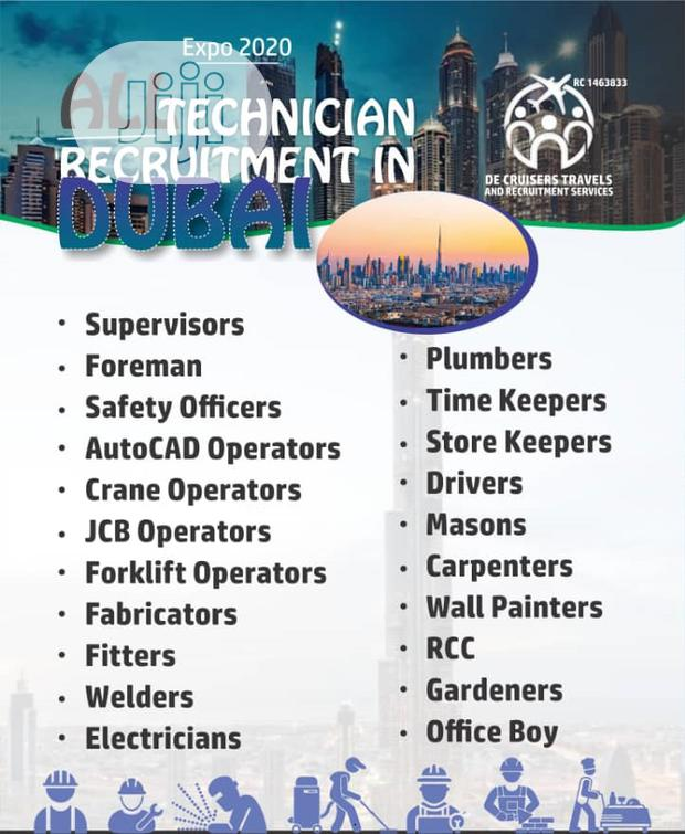 All Technician Recruitment In Dubai