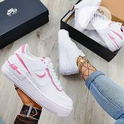 """Nike AIRFORCE Shadow """"White/Magic Flamingo"""" 
