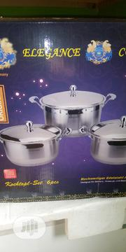A Set Of 6 Pieces Of Elegance Pots | Kitchen & Dining for sale in Rivers State, Port-Harcourt