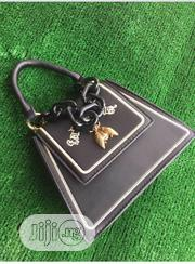 Quality Designers Ladies Bag with Flap in Black | Bags for sale in Lagos State, Ojodu