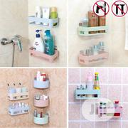 Bath Racks Bathroom Hanging Storage Rack Suction | Home Accessories for sale in Lagos State, Lagos Island