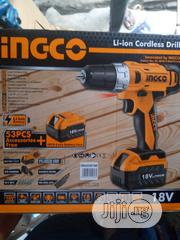 INGCO Cordless Drill Machine | Electrical Tools for sale in Lagos State, Lagos Island