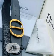 Christian Dior (CD) Leather Belt for Men's | Clothing Accessories for sale in Lagos State, Lagos Island