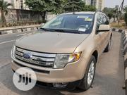 Ford Edge 2007 SE 4dr FWD (3.5L 6cyl 6A) Gold | Cars for sale in Lagos State, Lagos Mainland